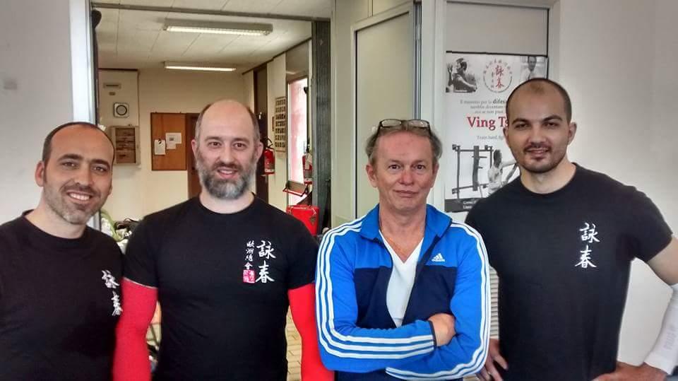Andrea Sediari, Enrico Ferretti, Philipp Bayer e Marco Berardi